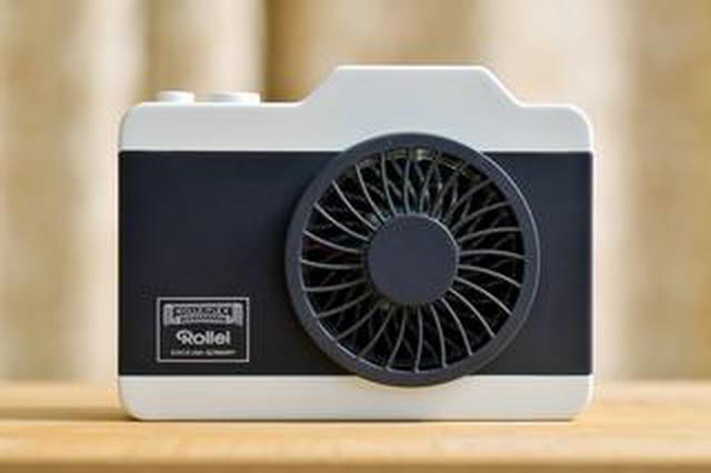 画像: 「Rollei」の名を冠するカメラ型おしゃれハンズフリーファン【カメラマンの自腹インプレ】〈若林浩志のスーパー・カブカブ・ダイアリーズ Vol.14〉