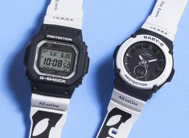 画像: G-SHOCKとBABY-Gから人気の「イルクジ」最新モデルが登場! オルカをモチーフとした白×黒デザインがおしゃれなソーラー電波腕時計