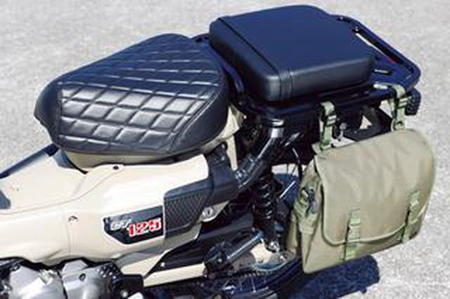 画像: ホンダ「CT125・ハンターカブ」は2人乗りもできる! カスタムサンプル〈ストリート スタイル〉はモリワキのマフラーにも注目