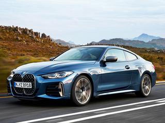 画像: 新型BMW 4シリーズクーペ登場、新デザインのキドニーグリルを採用して存在感をアピール