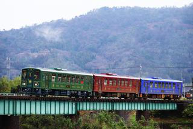 画像: 八頭町を走る若桜鉄道と絶景はいかがでしょう!