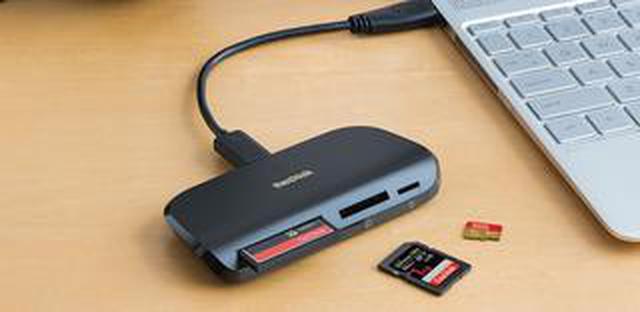 画像: サンディスクImageMate PRO USB-Cマルチカードリーダー/ライター発売
