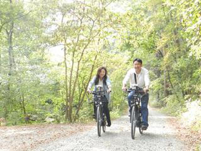 画像: 電動アシスト付き自転車で楽ちん安曇野めぐり!!