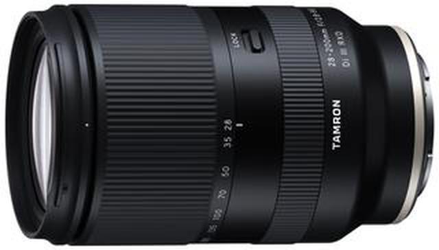 画像: 開放F2.8を実現したフルサイズミラーレス用高倍率ズームレンズ タムロン28-200mm F/2.8-5.6 Di III RXD (Model A071)を発売