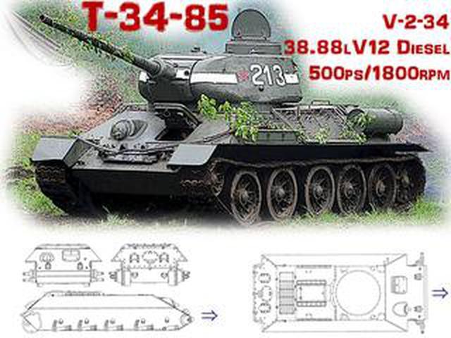 画像: 【モンスターマシンに昂ぶる 020】世界一量産されたT-34 戦車と、そのエンジンの秘密を探る