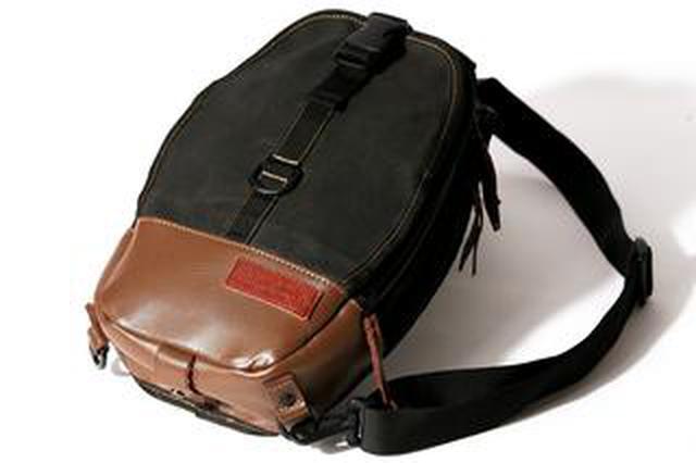 画像: 【銘品】かっこよすぎるタンクバッグが復刻! マックスフリッツ×タナックスのコラボで生まれた、おしゃれな2WAYバッグ