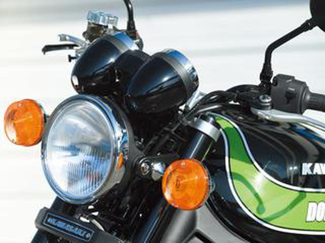 画像: 70年代AMAスーパーバイク用Zのイメージでカスタムされた、カワサキ「Z900RS」(ドレミコレクション)