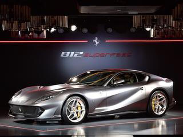 画像: 【Super Car File 07】フェラーリ 812 スーパーファストはV12気筒エンジンを搭載するフラッグシップモデル