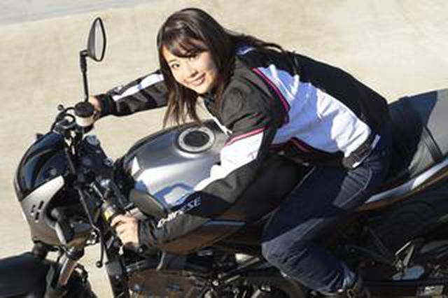 画像: 平嶋夏海 × スズキSV650 ABS・SV650X ABS【オートバイ女子部のフォトアルバム】