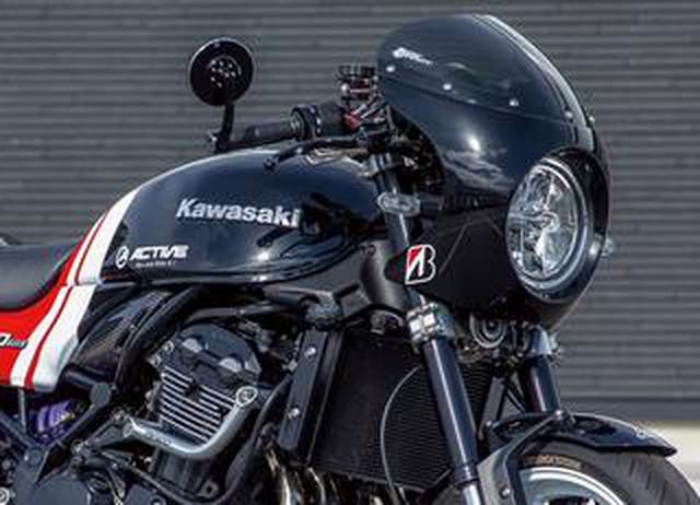 画像: カフェレーサーでありながらツーリング性能も併せ持つアクティブがカスタムしたカワサキ「Z900RS」