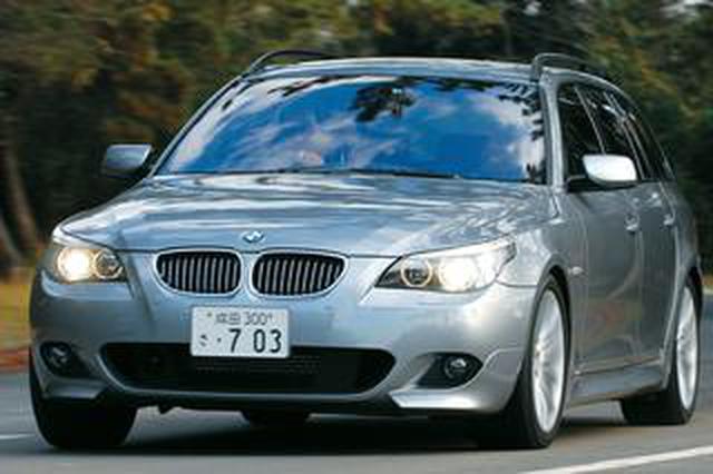 画像: 【ヒットの法則278】BMW 550iツーリングの底なしのトルク感はかつてのM5ツーリングを思い出させた