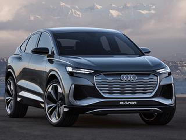 画像: アウディが電動化を加速。新型SUV「Q4 スポーツバック eトロン コンセプト」を本国で発表