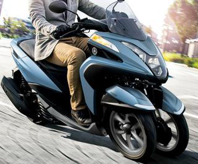 画像: いまイチオシの原付二種125cc通勤スクーター【ヤマハ編】三輪だから雨の日も超安心「トリシティ125」