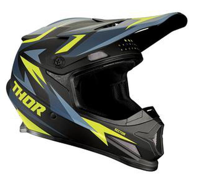 """画像: THORから公道OKなヘルメット""""セクター""""に、シックな新色"""