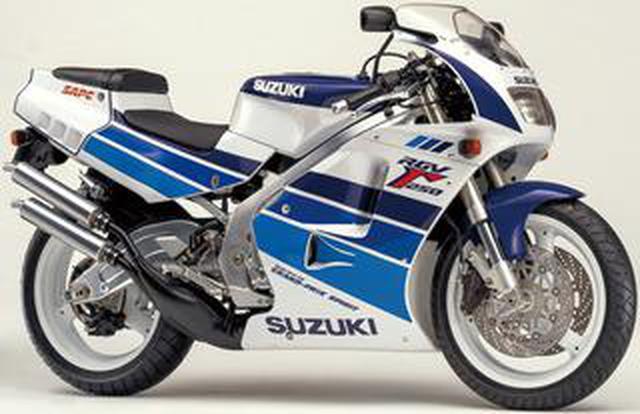 画像: スズキRG250Γヒストリー(RGV250Γ・VJ22A編 1990-1995)