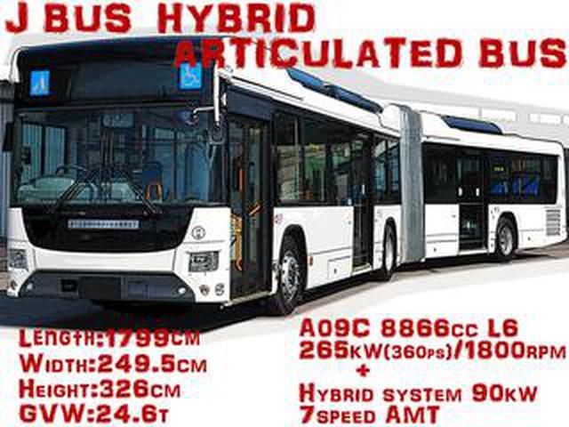 画像: 【モンスターマシンに昂ぶる 024】路線バスのモンスター、国産初の連節バスが登場!