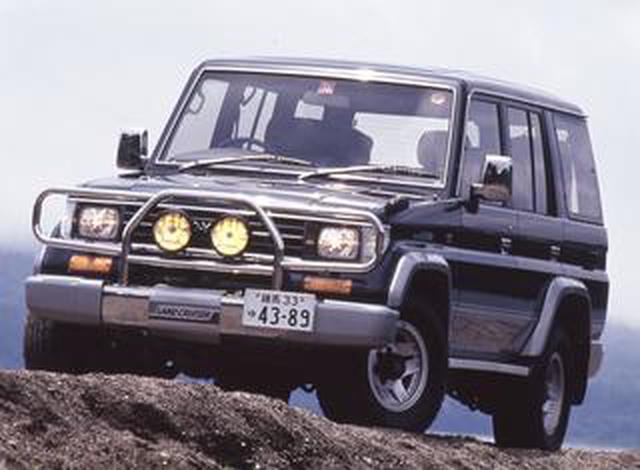画像: 【クロカン列伝06 ランドクルーザープラド 70編】ハードな4WDから操作性や乗り心地を重視する時代へ