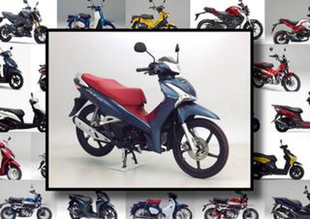 """画像: Thai HONDA「Wave125i Cast Wheel」いま日本で買える外国車""""原付二種モデル""""はコレだ! 【最新125cc大図鑑 Vol.076】"""
