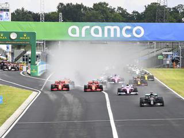 画像: F1第3戦ハンガリーGPはハミルトンが優勝、フェルスタッペンがまさかのクラッシュから2位に【モータースポーツ】