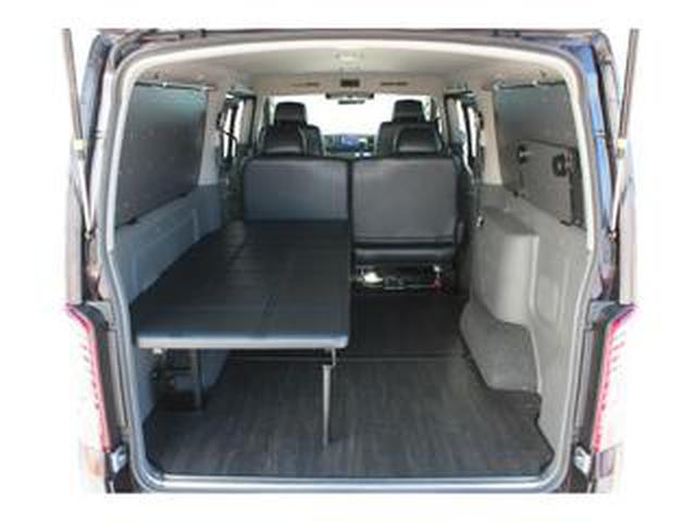 画像: 運転席側、助手席側あなたならどっちにつける? ベッドを装備してもっと快適に