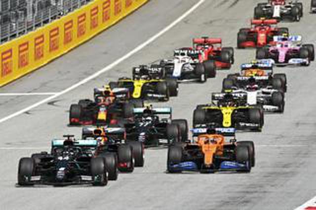 画像: F1カレンダーに新たに5グランプリが追加され、第13戦までの日程が確定【モータースポーツ】