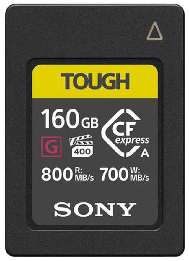 画像: ソニー、次世代高速メモリーカードの CFexpressType Aカードを発売