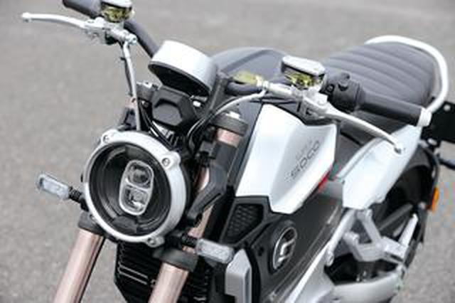 画像: AT普通二輪免許で乗れる電動スポーツバイク SUPER SOCO「TC Max」【試乗インプレ・車両解説】(2020年)