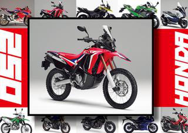 画像: ホンダ「CRF250Rally」いま日本で買える最新250ccモデルはコレだ!【最新250cc大図鑑 Vol.003】-2020年版-
