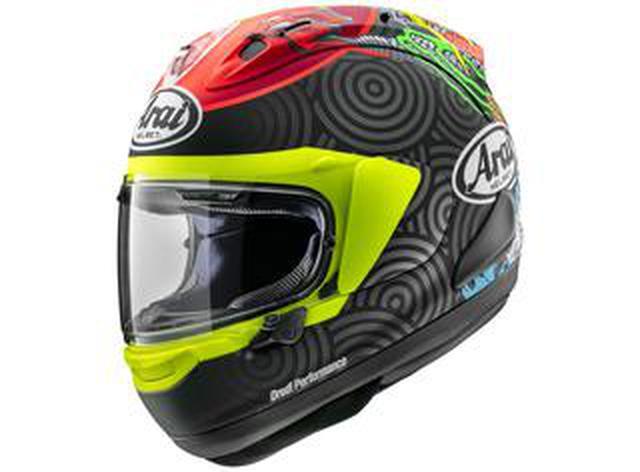 画像: Moto3で活躍する鈴木竜生選手のレプリカヘルメット! アライが「RX-7X・タツキ」を発表