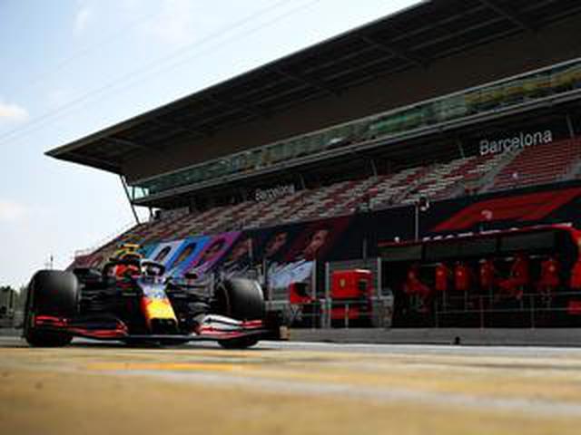 """画像: 第6戦スペインGPフリー走行、フェルスタッペンが""""ロングランはいける!""""と手応えを口にした【モータースポーツ】"""