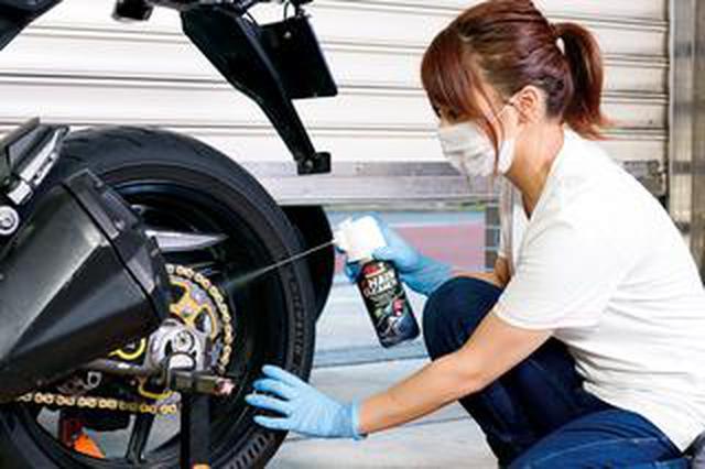 画像: バイクのチェーンのメンテナンス方法と便利な用品を紹介! 必要な道具と手順が分かれば自分で簡単に清掃・注油はできる!