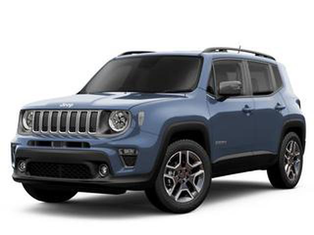 画像: ジープ レネゲードの限定車「スレートブルー」が9月に発売。19インチホイールを採用した個性派