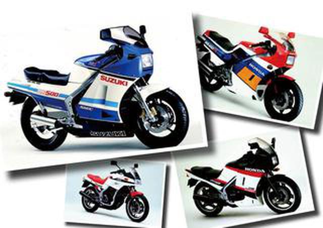 画像: RG500Γ、NS400Rなどのフルカウルスポーツバイクが続々登場!【日本バイク100年史 Vol.035】(1985年)<Webアルバム>