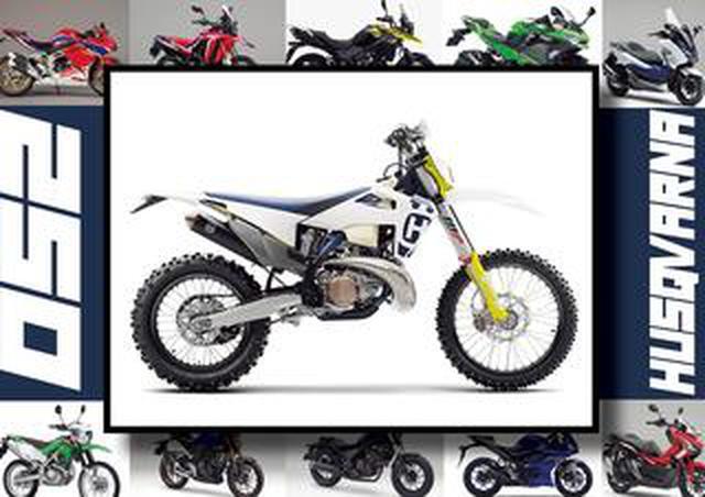 画像: ハスクバーナ「TE250i」いま日本で買える最新250ccモデルはコレだ!【最新250cc大図鑑 Vol.032】-2020年版-