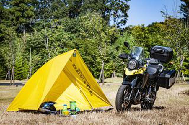 画像: 《後編》250ccバイクでのキャンプツーリングにガチでおすすめ! スズキ『Vストローム250』の荷物積載力に震えた......【SUZUKI V-Strom250/積載インプレ2】