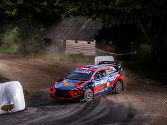 画像: WRCが6カ月ぶりに再開、初開催のラリー エストニアはオィット・タナック(ヒュンダイ)が優勝【モータースポーツ】