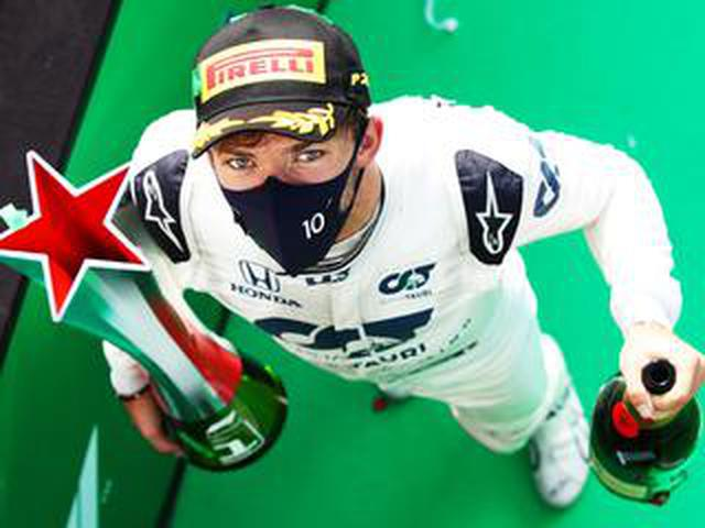 画像: F1イタリアGP、関係者がコメント「ガスリーの勝因は力強い走りと早めのタイヤ交換にあった」【モータースポーツ】