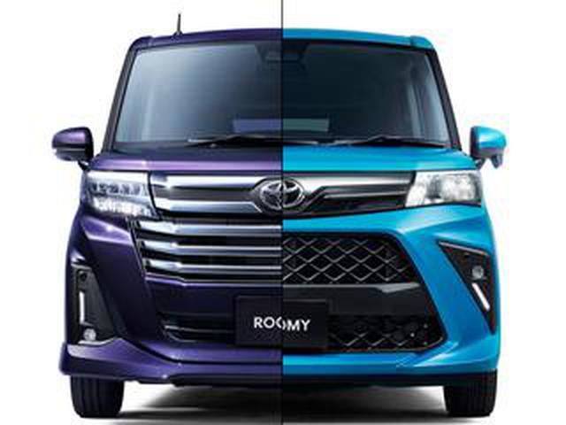 画像: トヨタ ルーミーがマイナーチェンジ。タンクが統合されて販売台数で国内トップになる可能性も