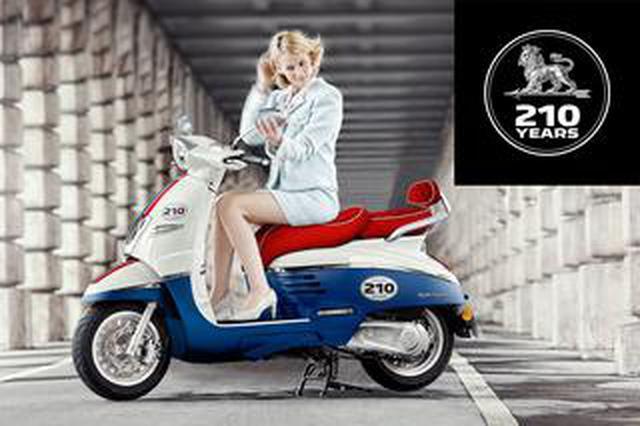 画像: 【21台限定!】プジョー創業210周年を記念した「ジャンゴ125 ABS 210thリミテッドエディション」が9月26日に発売!