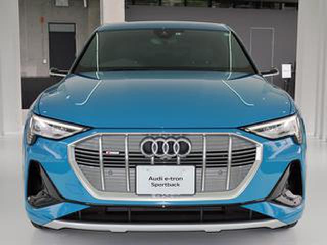 画像: 【ニューモデル写真蔵】アウディが日本初導入した電気自動車「e-トロン スポーツバック」