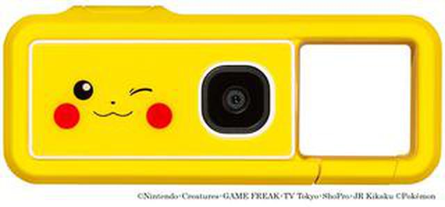 """画像: キヤノンは「iNSPiC REC」のポケモンデザインモデル """"iNSPiC REC PIKACHU MODEL"""" を発売!"""