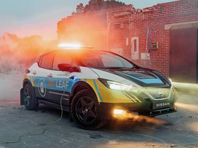 画像: 日産が災害復旧支援コンセプトカー「リ・リーフ」を欧州で公開