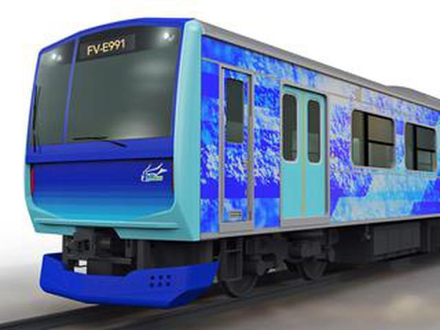 画像: トヨタが水素をエネルギー源とするハイブリッド鉄道車両を日立と連携して開発へ