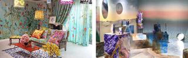 画像: エプサイトギャラリー企画展 『Textile and Interior Printing Exhibition inspired by AGURI SAGIMORI』 11月17日(火)~12月9日(水)