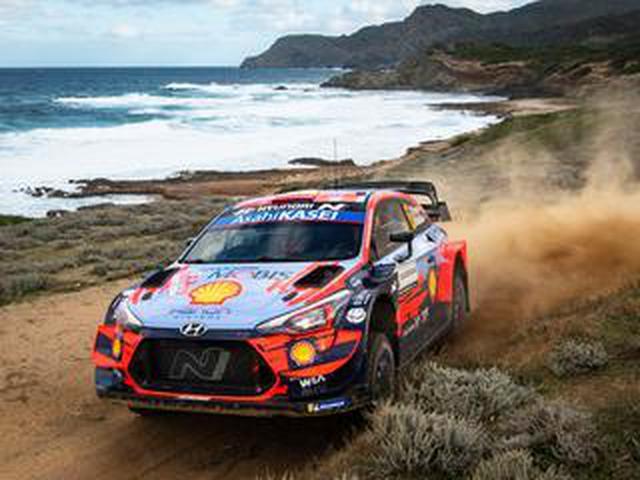 画像: WRCラリーイタリア 、ヒュンダイのソルドが逃げ切りに成功して優勝【モータースポーツ】