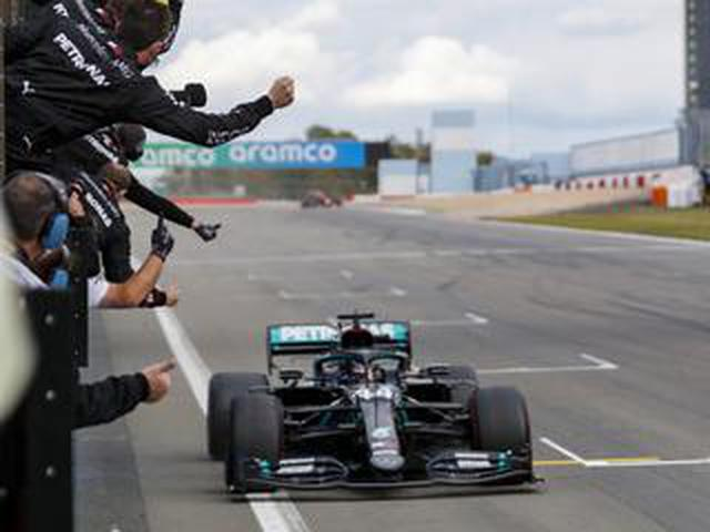 画像: F1アイフェルGP、ハミルトンがシューマッハに並ぶ通算91勝達成、フェルスタッペンは意地の2位【モータースポーツ】