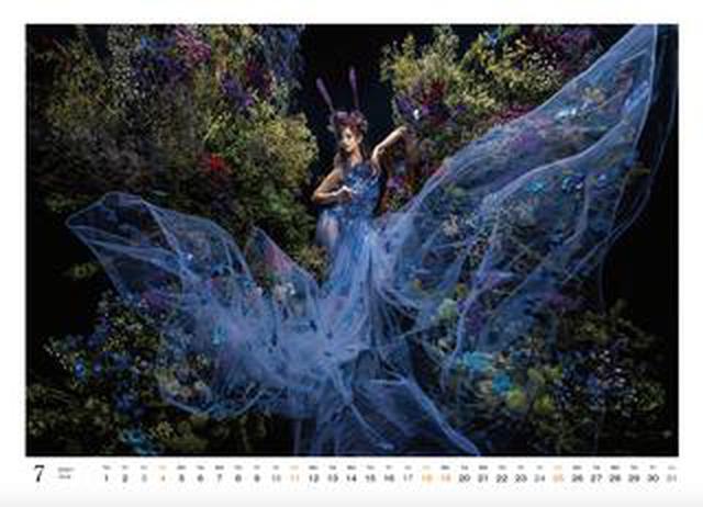 画像: カメラマン2021カレンダーのご紹介Part21 HASEOさん「花と人」