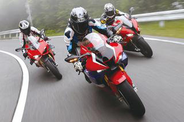 画像: リッターSSバイクのスポーツ性能を比較! ホンダ CBR1000RR-R・BMW S1000RR・ドゥカティ パニガーレV4S