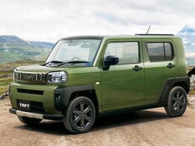 画像: ダイハツ タフトの発売後3カ月間の売れ行きと軽自動車のSUV市場が急成長した背景