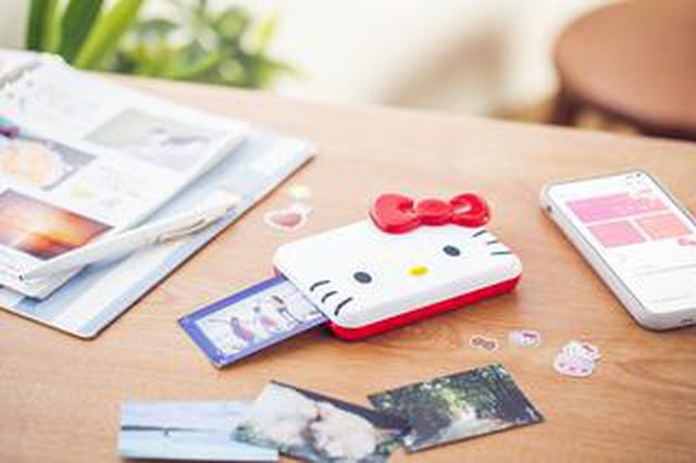画像: キヤノンのミニフォトプリンター「iNSPiC」がハローキティとコラボレーション! 2020年11月中旬発売予定。税込1万7380円。